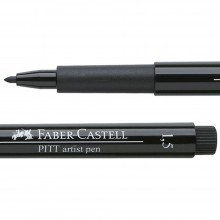 Faber Castell : Pitt : Pen 1.5mm Bullet : Black