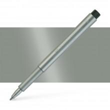 Faber Castell : Pitt : Artist Pen : Silver