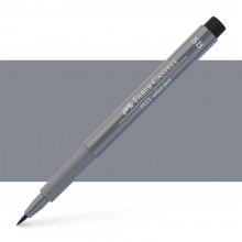 Faber Castell : Pitt : Artist Pen : Soft Brush : Cold Grey IV
