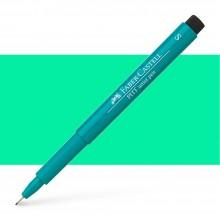 Faber Castell : Pitt Artists Pen : Super Fine : Cobalt Green