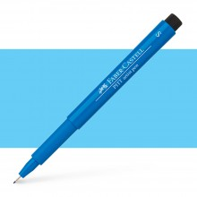 Faber Castell : Pitt Artists Pen : Super Fine : Phthalo Blue