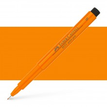 Faber Castell : Pitt Artists Pen : Super Fine : Orange Glaze