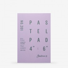 Jackson's : Pastel Paper : Pad : 165gsm : 20 Sheets : Assorted Colours : 4x6in