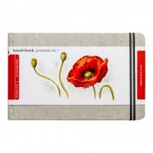 Jackson's : Natural Linen Watercolour Journal : 5.25x8.25in : Large Landscape