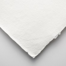 Khadi Handmade White Rag Paper 320gsm : Smooth : 56x76cm : 10 Sheets