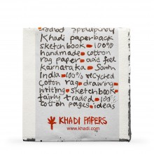 Khadi : Handmade Watercolour Paper : Pad 150gsm : Rough : 15 Sheets : 20x20cm