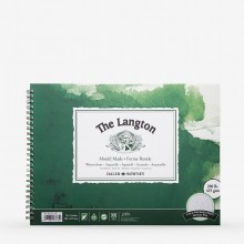 Daler Rowney : Langton : 9x12in : Watercolour Paper : Spiral Pad : 425gsm : Not