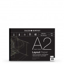 Daler Rowney : Layout Pad : 45gsm : 80 sheets : A2