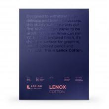 Lenox 100 : Fine Art Paper Pad : 250gsm : 11x14in : White