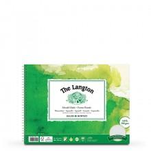 Daler Rowney : Langton : 12x16in : Watercolour Paper Pad : 300gsm : Not