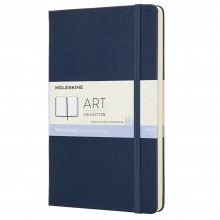 Moleskine : Art Collection : Sketchbook : 165gsm : Hard Cover : 13x21cm : Sapphire Blue