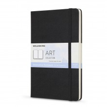 Moleskine : Art Collection : Watercolour Notebook : 200gsm : Hard Cover : 13x21cm : Black