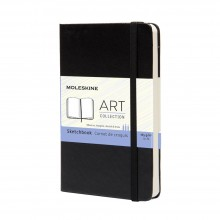 Moleskine : Sketchbook : 165gsm : 9x14cm : Hard Cover : 80 pages : Black