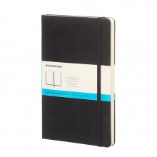 Moleskine : Ruled Notebook : 13x21cm : Hard Cover : 240 pages : Black