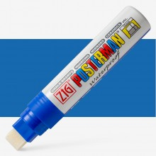 Zig : Posterman Chalk Board Marker : Big & Broad (15mm Nib) : Blue