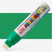 Kuretake : Zig : Posterman Chalk Board Marker : Big & Broad (15mm Nib) : Green