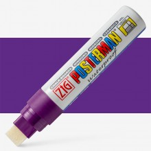 Zig : Posterman Chalk Board Marker : Big & Broad (15mm Nib) : Violet