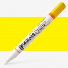 Pebeo : Porcelaine Paint Marker : 20ml : Fine 0.7mm Point : Marseille Yellow