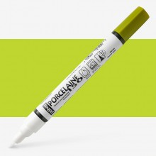 Pebeo : Porcelaine Paint Marker : 20ml : Fine 0.7mm Point : Peridot Green