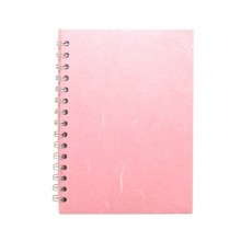 Pink Pig : Watercolour Sketchbook : 270gsm : A5 : Pale Pink Cover : Portrait