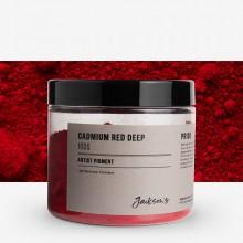 Jackson's : Artist Pigment : Cadmium Red Deep PR108 : 100g (in 200ml Jar)