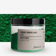 Jackson's : Artist Pigment : Cobalt Green Light PG50 : 100g (in 200ml Jar)