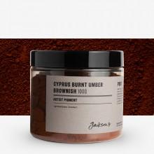Jackson's : Artist Pigment : Cyprus Burnt Umber Brownish PBr7 : 100g (in 200ml Jar)