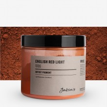 Jackson's : Artist Pigment : English Red Light PR102 : 100g (in 200ml Jar)