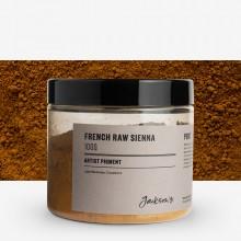 Jackson's : Artist Pigment : French Raw Sienna PBr7 : 100g (in 200ml Jar)