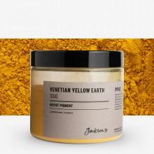 Jackson's : Artist Pigment : Venetian Yellow Earth PY43 : 100g (in 200ml Jar)