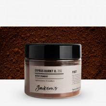 Jackson's : Artist Pigment : Cyprus Burnt Umber PBr7 : 25g (in 50ml Jar)