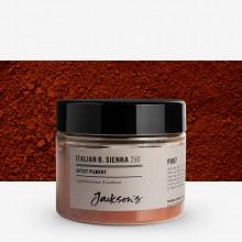 Jackson's : Artist Pigment : Italian Burnt Sienna PBr7 : 25g (in 50ml Jar)