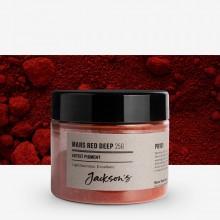Jackson's : Artist Pigment : Mars Red Deep PR101 : 25g (in 50ml Jar)