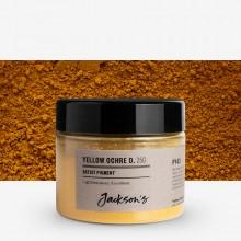 Jackson's : Artist Pigment : Yellow Ochre Deep PY43 : 25g (in 50ml Jar)