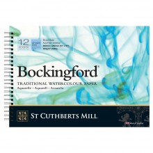 Bockingford : Spiral Pad : 10x14in : 300gsm : 12 Sheets : Not
