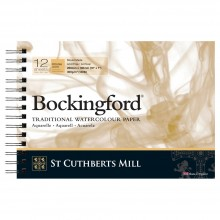 Bockingford : Spiral Pad : 7x10in : 300gsm : 12 Sheets : Rough