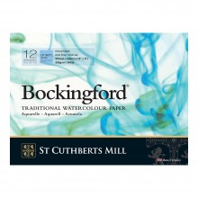 Bockingford : Glued Pad : 9x12in : 300gsm : 12 Sheets : Not