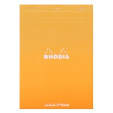 Rhodia : No.18 Dot Pad : Orange Cover : 80 Sheets : A4