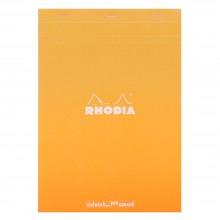 Rhodia : No.18 Dot Pad : Orange Cover : 80 Sheets : A4