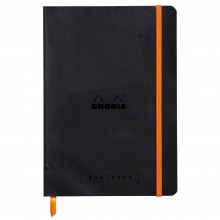 Rhodia : GoalBook : Dot Pad : Black Cover : 120 Sheets : A5