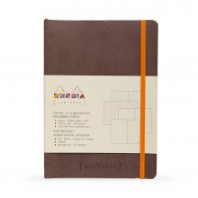 Rhodia : GoalBook : Dot Pad : Chocolate Cover : 120 Sheets : A5