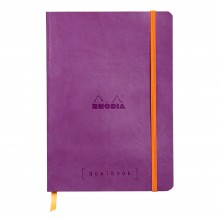 Rhodia : GoalBook : Dot Pad : Violet Cover : 120 Sheets : A5