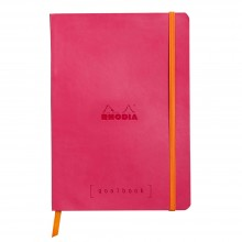 Rhodia : GoalBook : Dot Pad : Raspeberry Cover : 120 Sheets : A5