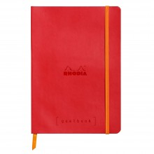 Rhodia : GoalBook : Dot Pad : Poppy Cover : 120 Sheets : A5