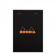 Rhodia : No.13 Graph Pad : Black Cover : 80 Sheets : A6