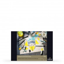 Royal Talens : Rembrandt : Toned Paper Pad : 180gsm : 50 Sheets : A4 : Industrial Grey