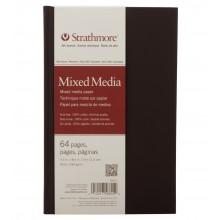 Strathmore : 500 Series : Mixed Media : Hardbound Art Journal : 5.5x8.5in