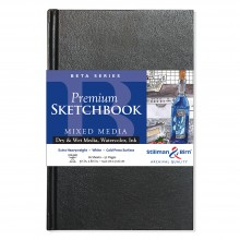 Stillman & Birn : Beta Sketchbook : 5.5 x 8.5in Hardbound 270gsm : Natural White : Cold Pressed / Rough