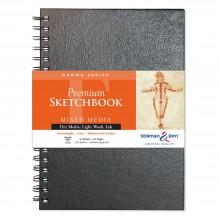 Stillman & Birn : Gamma Sketchbook 7 x 10in Wirebound 150gsm - Ivory Vellum