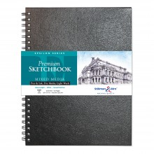 Stillman & Birn : Epsilon Sketchbook 9 x 12in Wirebound 150gsm - Natural White Smooth